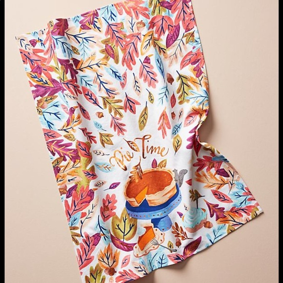 Anthropologie Other - Anthropologie Pie 🥧 Time Dishtowel new 🍂🍂